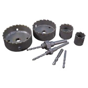 heavy duty carbide tipped hole saws