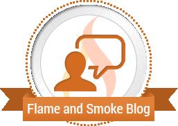 flame and smoke blog