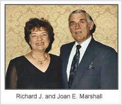 richard and joan marshall